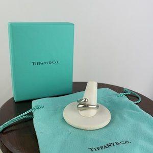 Tiffany & Co Sterling Silver Teardrop Ring